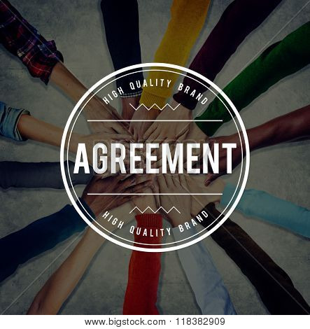 Agreement Accordance Collaboration Deal Friendship Concept
