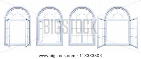 Collection Of Isolated Arched Windows