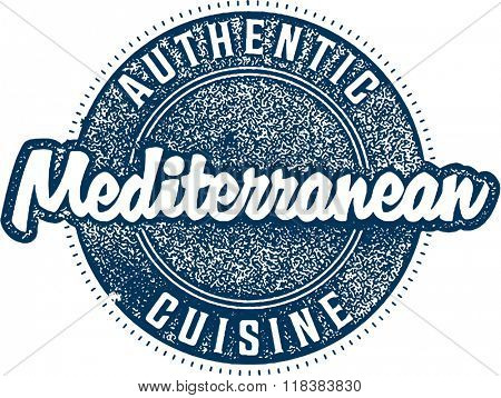 Authentic Mediterranean Cuisine Menu Food Stamp