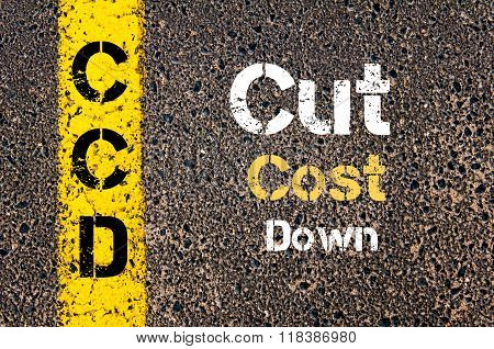 Business Acronym Ccd Cut Cost Down