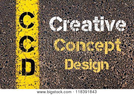 Business Acronym Ccd Creative Concept Design
