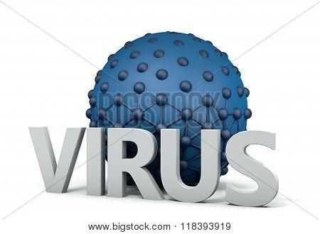 Virus Taking On Cell