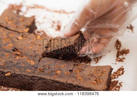 Homemade Chocolate Brownie