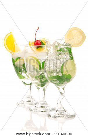 Mojito Cocktails Composition