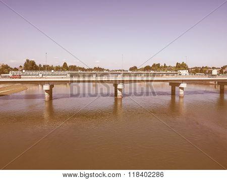 Bridge In San Mauro Vintage