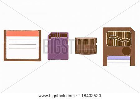 Memory Cards Vintage