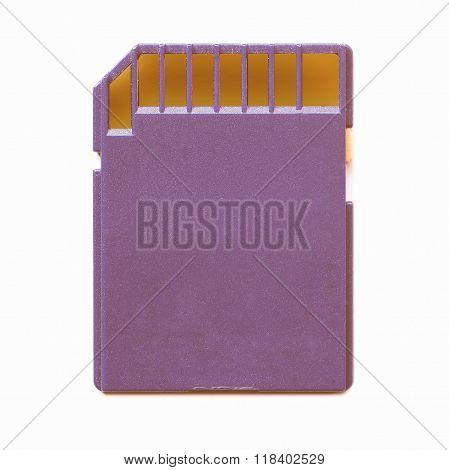 Memory Card Vintage