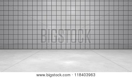 Gray Tiles Background