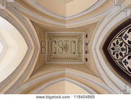 Ceiling Of Holy Rosary Church