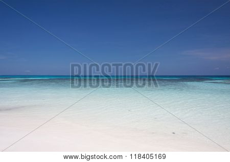 Blue Sky And Turquoise Sea