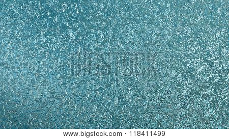 Blue Metal Liquid Pattern