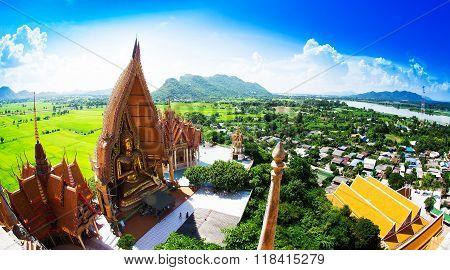 Wat Tham Sua(Tiger Cave Temple) Tha Moung Kanchanburi Thailand