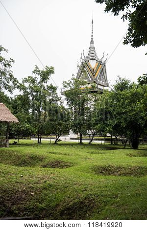 Khmer Rogue Genocide Graves