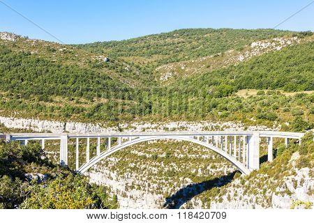 Pont de l'Artuby, Verdon Gorge, Provence, France