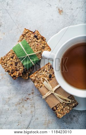 Tea And Granola Bars