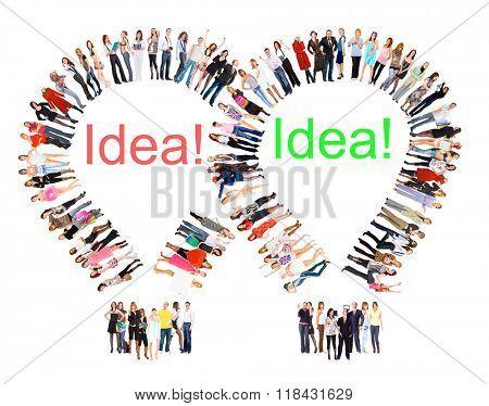 People Diversity Corporate Teamwork