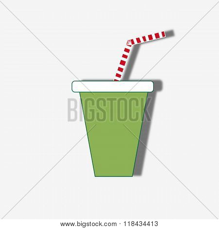 Milkshake Drink Cocktail Icon