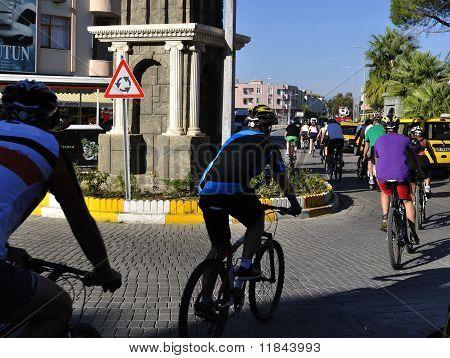 Touristics Cycle Race