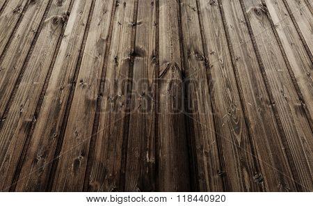 Wooden Floor Perspective