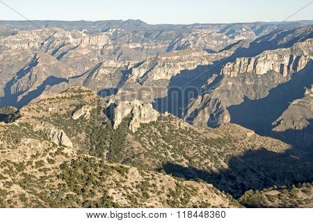 Copper Canyon In The Sierra Tarahumara