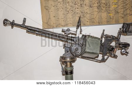 Heavy Machine Gun Degtyarev-shpagin (dsk) Of The Sample In 1938