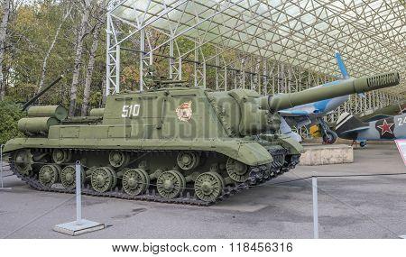 Self-propelled Artillery Installation Isu-152 Sample 1943