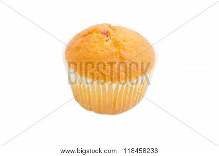 One Sweet Muffin On A Light Background