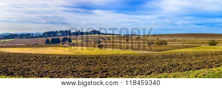 Hdr Panoramatic Landscape