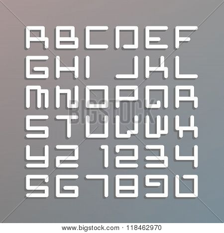 Modern astro font