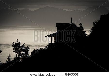 Skyline Of Ninilchik