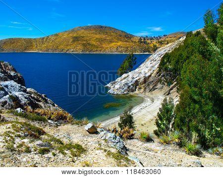 Isla del Sol on Titicaca Lake