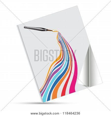Vector Rainbow Book