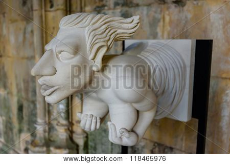 Interesting Human Sculpture