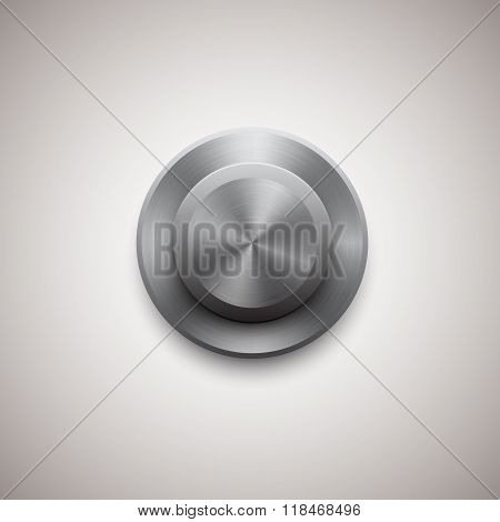 Vector circle regulator button