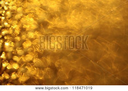 Adorable Yellow Golden Background