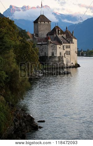 Stone Chillon Castle
