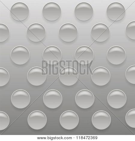 Gray Bubblewrap Background.