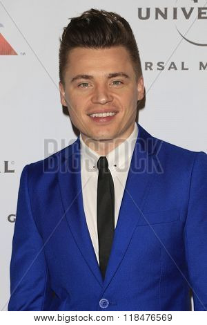 LOS ANGELES - FEB 15:  Shawn Hook at the Universal Music Group's 2016 Grammy After Party at the Ace Hotel on February 15, 2016 in Los Angeles, CA
