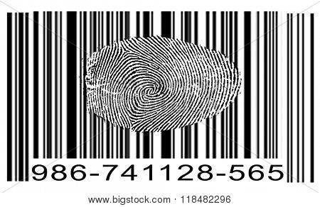 Finger Print Barcode