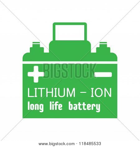 Lithium ion car battery