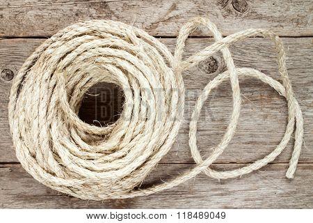 Roll Of Sisal Rope