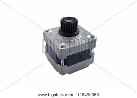 Used 4 Wire 24V Bipolar Brushless Stepping Motor Isolated