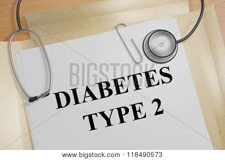 Diabetes Type 2 Concept