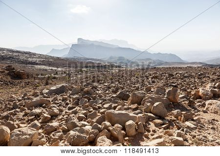 Mountains In Oman, Middle East