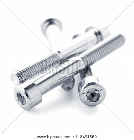 Hex Head Bolt Screws Thread