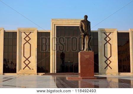 Heydar Aliyev Centre in Lokbatan, Azerbaijan