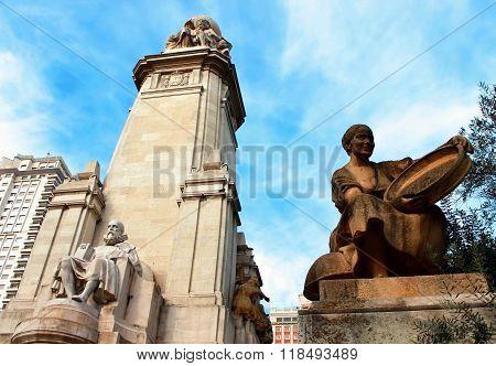 Cervantes, Madrid, Spain