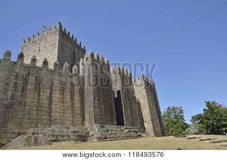 Medieval Castle Of  Guimaraes