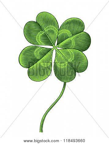 clover symbol of patrics day
