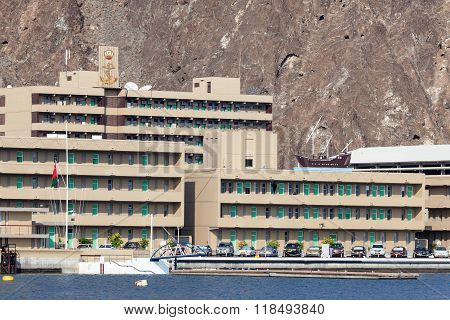 Naval Base In Muscat, Oman